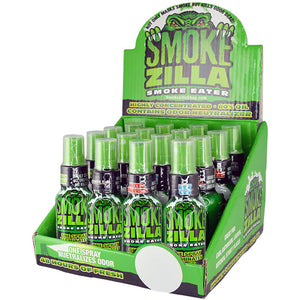 ITEM NUMBER 022623 SMOKE EATER SPRAY 16 PIECES PER DISPLAY