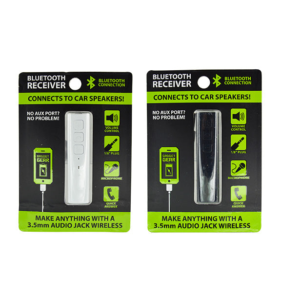 ITEM NUMBER 023611 GG BLUETOOTH RECEIVER 4 PIECES PER PACK