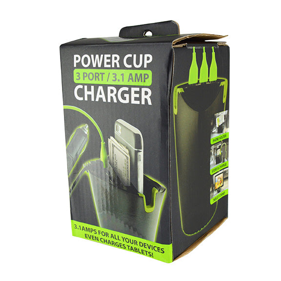ITEM NUMBER 023628 GG CUP HOLDER CHARGER 2 PIECES PER PACK