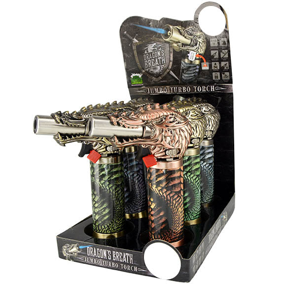 ITEM NUMBER 023667 DRAGON JUMBO TORCH 6 PIECES PER DISPLAY