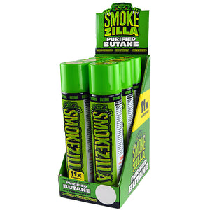 ITEM NUMBER 023670 SMOKEZILLA PURIFY BUTANE 300ML 6 PIECES PER DISPLAY