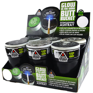 ITEM NUMBER 023786 GLOW IN DARK BUTT BUCKET 6 PIECES PER DISPLAY