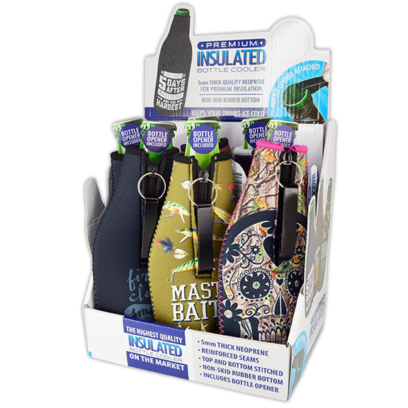 ITEM NUMBER 024068 5MM BOTTLE SUIT 6 PIECES PER DISPLAY