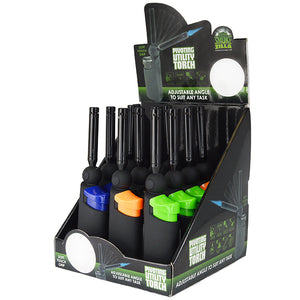 ITEM NUMBER 025965 PIVOT UTILITY LIGHTER 12 PIECES PER DISPLAY