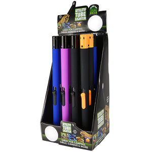 ITEM NUMBER 025969 TUBE UTILITY LIGHTER 12 PIECES PER DISPLAY