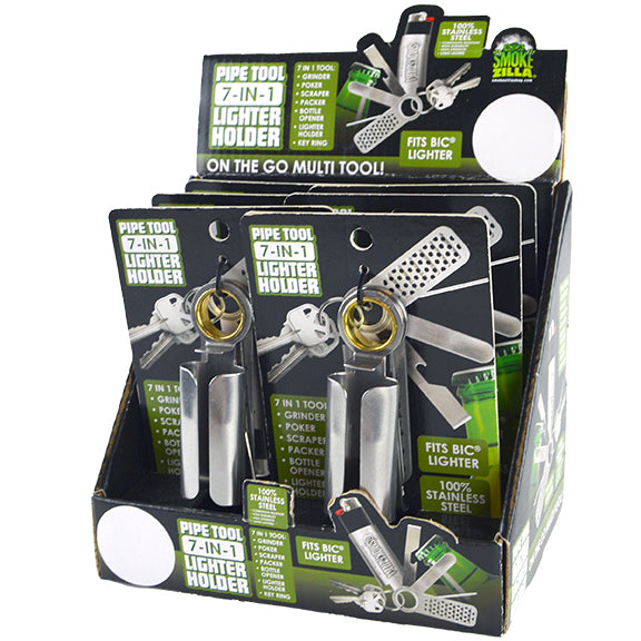 ITEM NUMBER 026044 RING LIGHTER CASETOOLS 6 PIECES PER DISPLAY