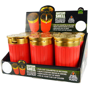 SHOT GUN SHELL BUTT BUCKET                       Item #026105 - 6 pieces per display