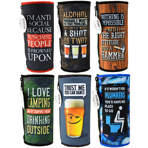 ITEM NUMBER 026452 24OZ CAN COOLER 6 PIECES PER DISPLAY