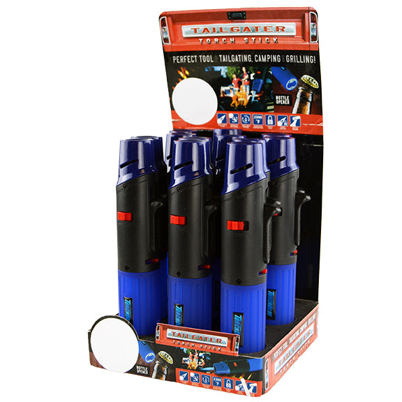ITEM NUMBER 028174 TB TAILGATER TORCH 12 PIECES PER DISPLAY