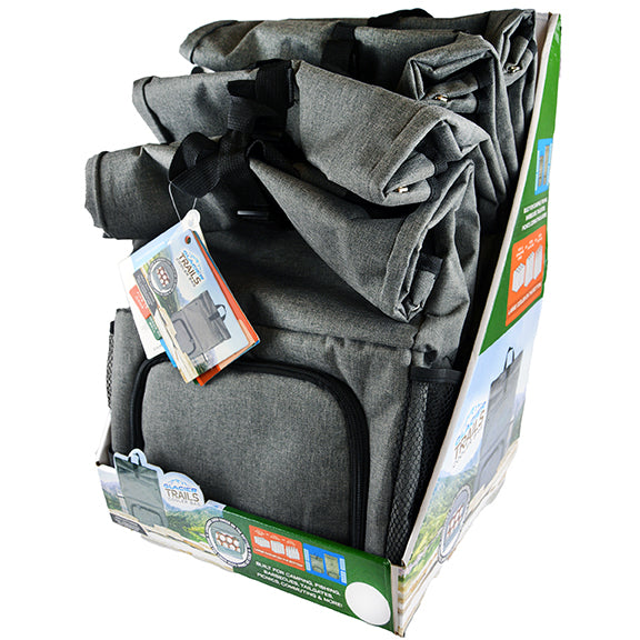 ITEM NUMBER 028206 BACKPACK COOLER 4 PIECES PER DISPLAY
