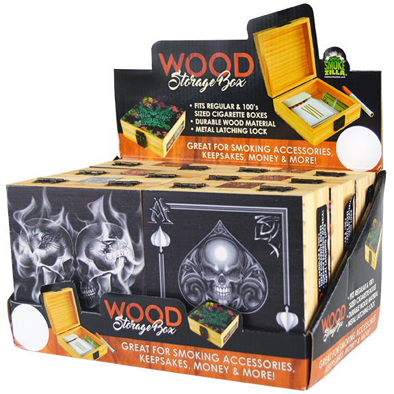 ITEM NUMBER 028208 WOOD BOX SM 6 PIECES PER DISPLAY