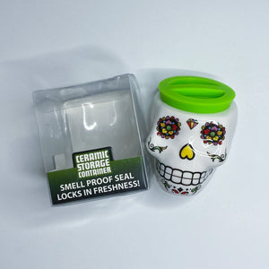 ITEM NUMBER 028259 3D SKULL TREASURE JAR 6 PIECES PER DISPLAY