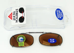 ITEM NUMBER 028972 CLIP ON SUNGLASSES 2 PIECES PER PACK