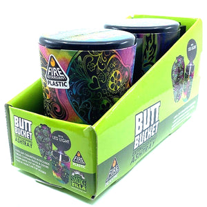 ITEM NUMBER 040310 FULL PRINT BUTT BUCKET D 2 PIECES PER DISPLAY