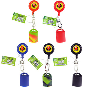 ITEM NUMBER 040316 RETRACTABLE LIGHTER HOLDER D 18 PIECES PER DISPLAY