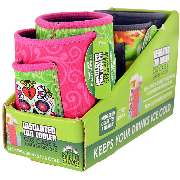 ITEM NUMBER 040330 CAN COOLER CIG POUCH 2 PIECES PER DISPLAY