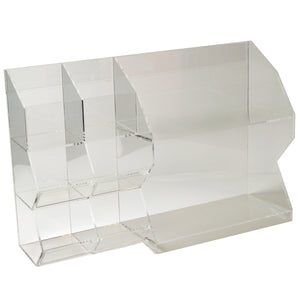 ITEM NUMBER 969210 - SIX BIN BULK AND TWO SHELVES ACRYLIC