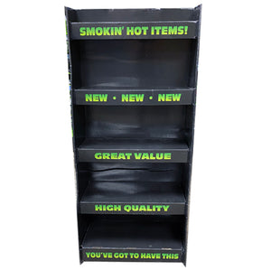 ITEM NUMBER 972800 - CORRUGATED SMOKEZILLA 2FT ENDCAP Floor Display Only