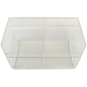 ITEM NUMBER 973300 - FOUR BIN BULK ACRYLIC