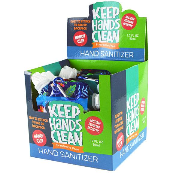 ITEM NUMBER KP4126 HAND SANITIZER - GENERICMIX 12 PIECES PER DISPLAY