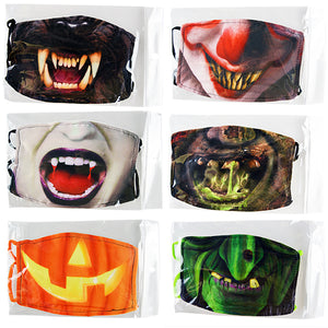 ITEM NUMBER KP4175 ADULT POLYESTER MASK HALLOWEEN 24 PIECES PER DISPLAY