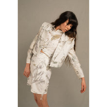 Load image into Gallery viewer, Blombos Eco Print Crop Blazer