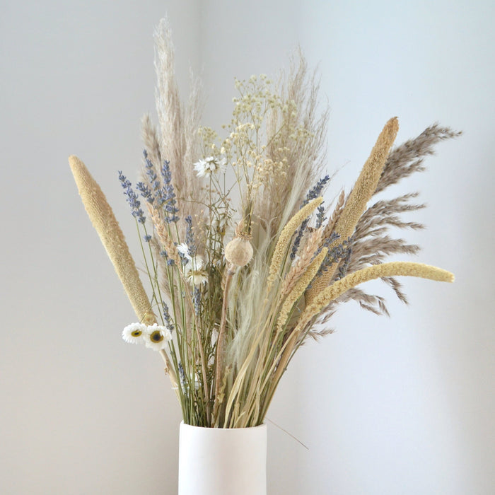 All Natural Purple Dried Flower Bunch