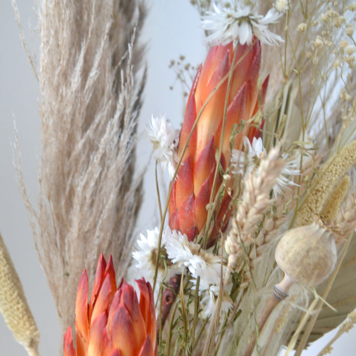 All Natural Red Dried Flower Bunch