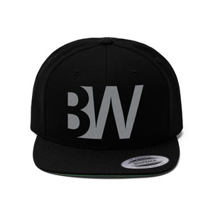 Bitwise - BW, Black, Flat Bill Hat
