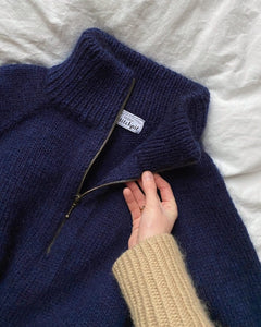 Zipper sweater man - stök uppskrift