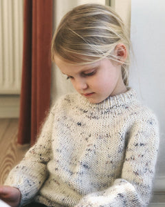 Novice sweater junior - stök uppskrift