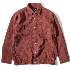 Uneven Gum Shirt(Brown)