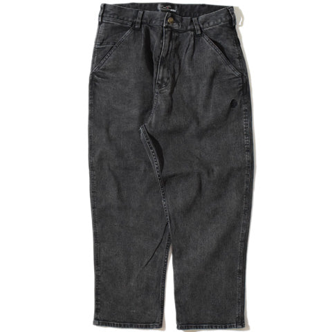 Thick Denim PT(Black)