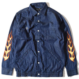 Fire Chambray Shirt(Navy)