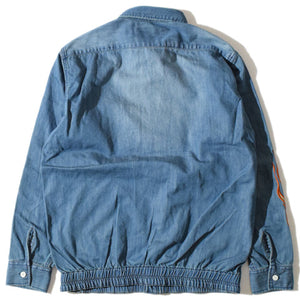 Fire Chambray Shirt(Blue)