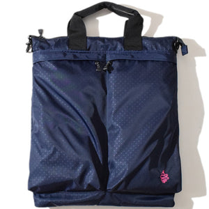 Polka Helmet Bag(Navy)