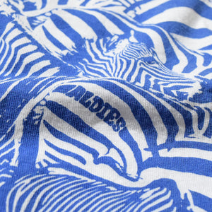 Zebra Big T(Blue)