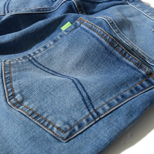 Tuck Denim PT(Blue)