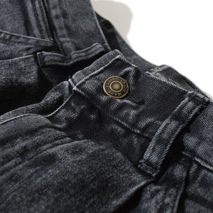 Tuck Denim PT(Black)