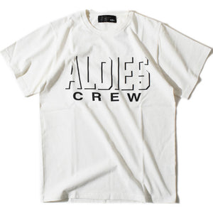 Aldies Crew T(White)