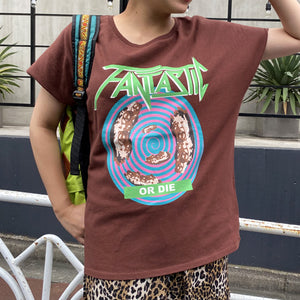 Fantastic T(Brown)【XSサイズ】