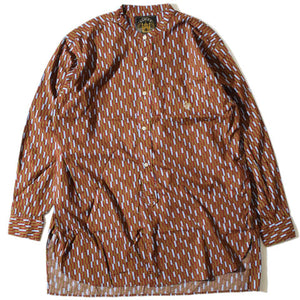 Stand Shower Shirt(Brown)