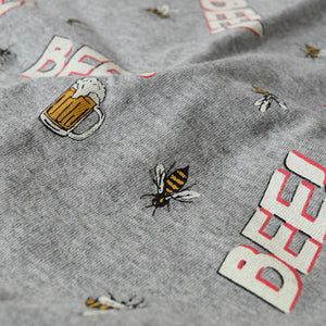 Bee&Beer Big T(Gray)