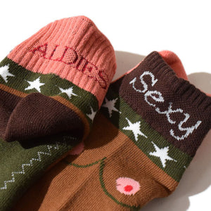 Sexy Socks(Brown)