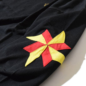 Windmill Half Sleeve T(Black)