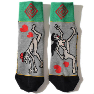 ELDORESO「Illusion Sox」Gray