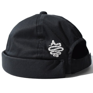 Bobby Roll Cap(Black)