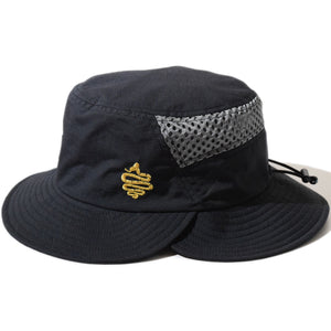 Double Brim Hat(Black)