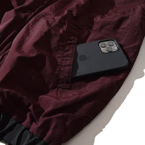 Cat 2Way Parka(Burgundy)