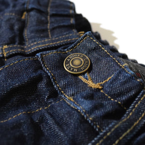 Denim Sensation Wide PT(Navy)